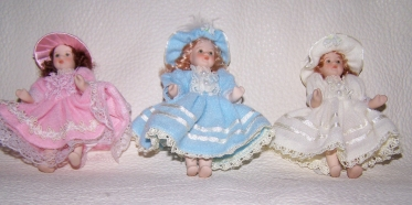 Colonial Porcelain Doll