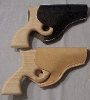 Wooden Pistol with Holster